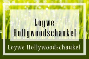 Loywe Hollywoodschaukel