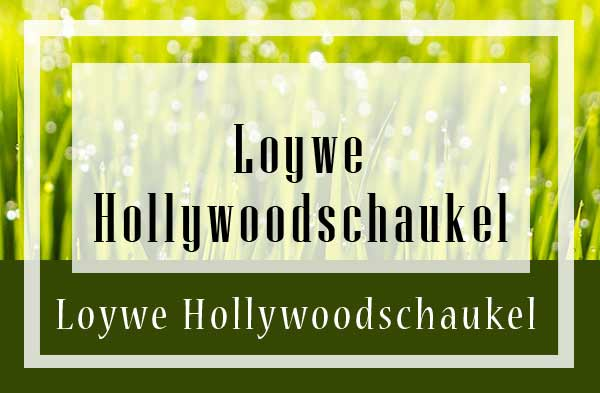 Loywe Hollywoodschaukel