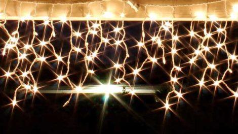 Lichterkette Balkon Gartenweltonline