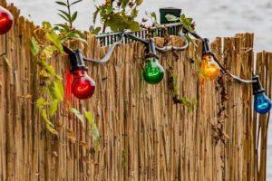 Outdoor-Lichterkette