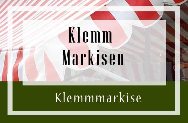 Favorit Klemmmarkise - Gartenweltonline EX13