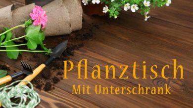 Photo of Pflanztisch mit Unterschrank