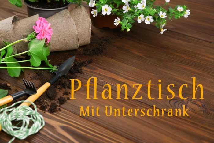 Pflanztisch mit Unterschrank depositphotos.com